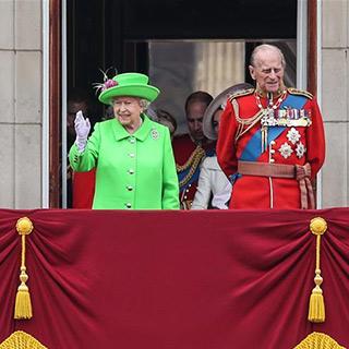 英女王90岁生日庆典在伦敦举行[组图]