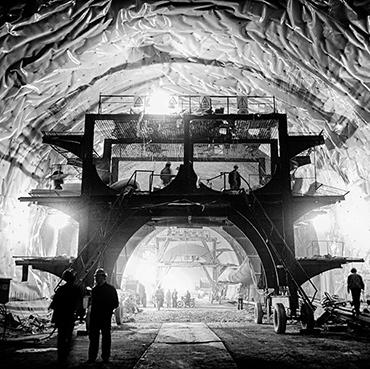 隧道是这样炼成的[组图]