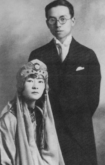 徐志摩与三个女人的爱恨纠葛:张幼仪林徽因陆小曼图片