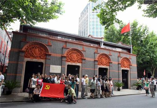 红色,从这里出发——寻访党的一大会址