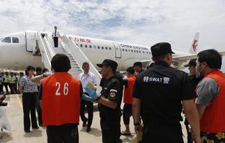 39名两岸电信诈骗嫌犯自柬埔寨遣回大陆