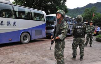 重庆遭暴雨袭击 一监狱紧急转移千余名罪犯