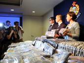 香港警方反毒品行动检获逾亿元毒品