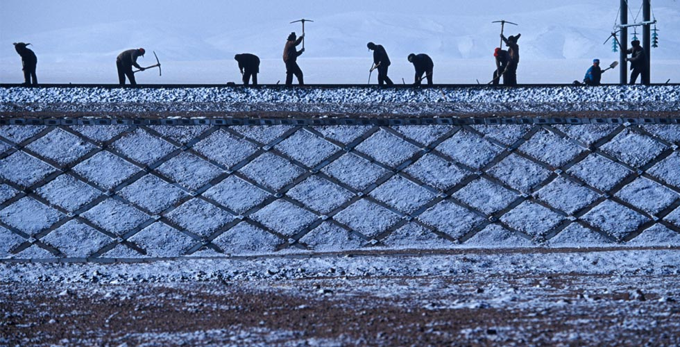 【纪念青藏铁路通车10周年】雪域天路——通向希望的脊梁