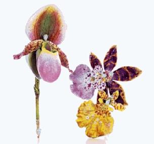珠宝与花的结合 哪个女人能抗拒