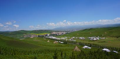 花开遍野的七月 陪你一起到当周草原过香浪节
