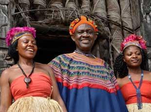 揭秘一夫多妻的喀麦隆部落王国 首领娶妻过百