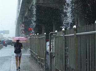 北京发布暴雨橙色预警