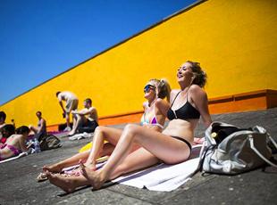 英国人的33度高温日常