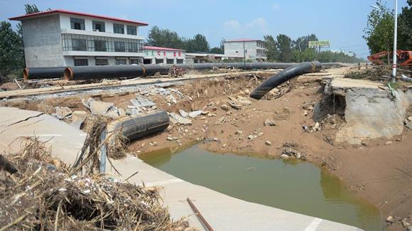 河北洪灾致904万人受灾 130人死亡