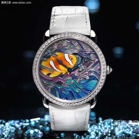 卡地亚 Ronde Louis Cartier XL 鱼与珊瑚