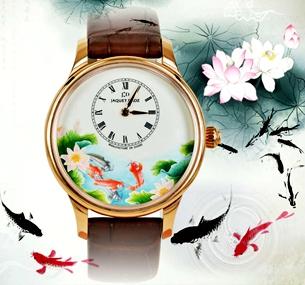 不談電影好看 腕錶上的魚都超美