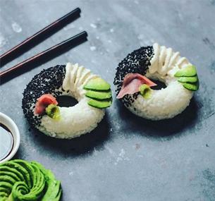 寿司甜甜圈 这种食物真的会火吗