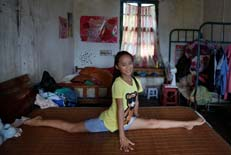 【世相】贫困村女孩的舞蹈梦