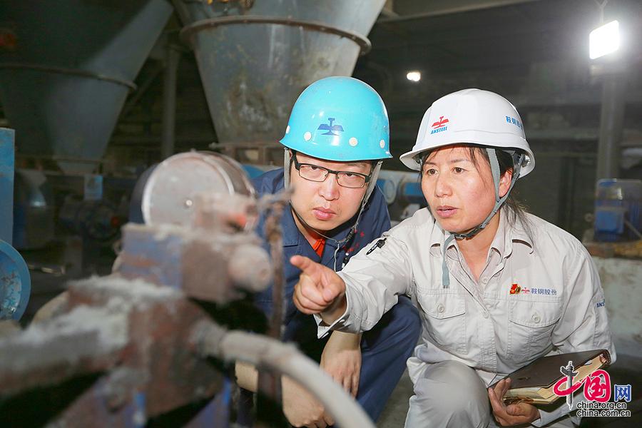 """大国工匠:点泥成""""金""""的发明家于淑娟[组图] - 人在上海    - 中国新闻画报"""