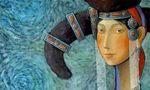 濃濃的民族風,美美的蒙古族油畫,你喜歡嗎?