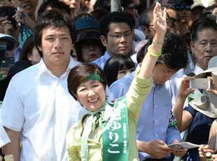 日本东京选出首位女性都知事
