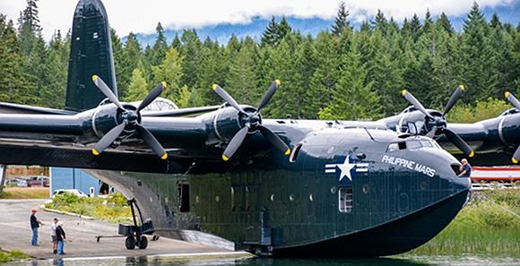 美军有世界最大水上飞机:翼展超b-52