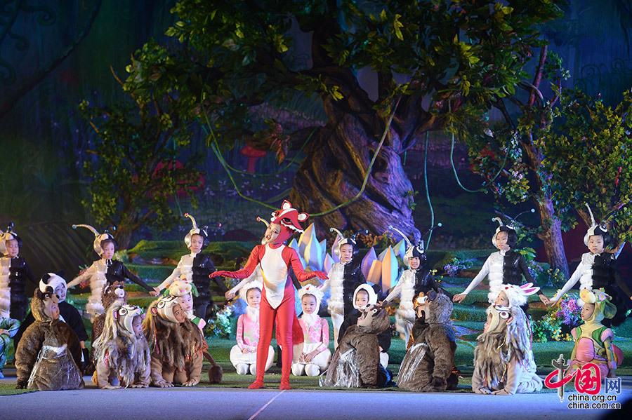 暑期大型环保儿童舞台剧《幸福在哪里》成功首演!