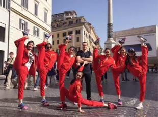 颜值最高的奥运队伍 中国艺术体操队出征里约