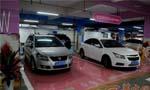 西安一商场针对女司机推出超宽车位