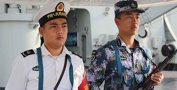 海军组织182名国防生赴舰艇部队实习