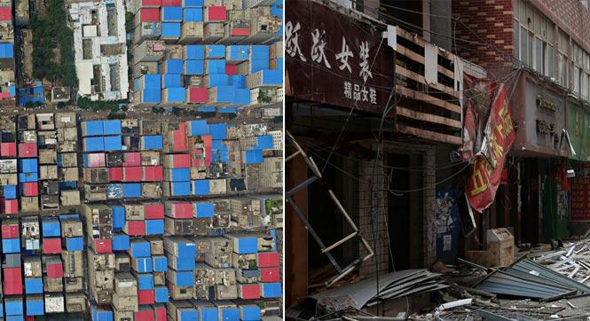 郑州最大城中村开拆 曾被称'中原小香港'