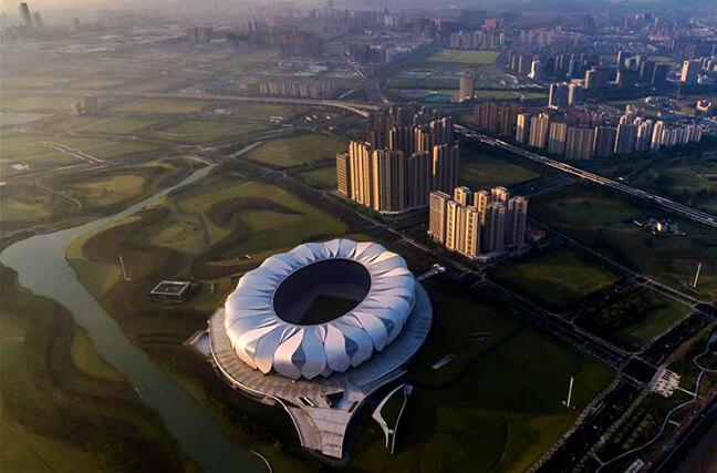 G20杭州峰會倒計時10天 '天空之眼'看杭州