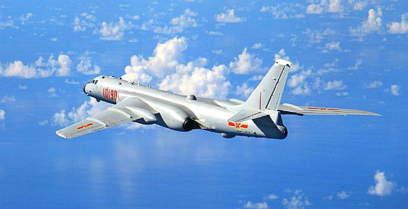 空军航空开放活动9月1日启动 轰-6K公开亮相