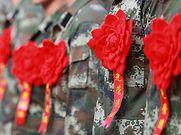 粤港边界一线242名退伍老兵今日返乡