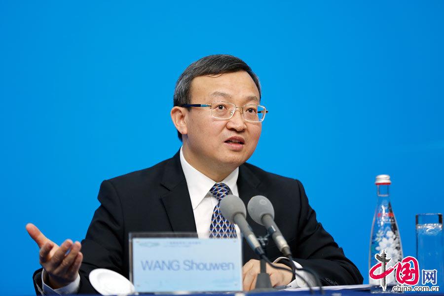 日,中国代表团商务部副部长王受文在二十国集团(G20)杭州峰会