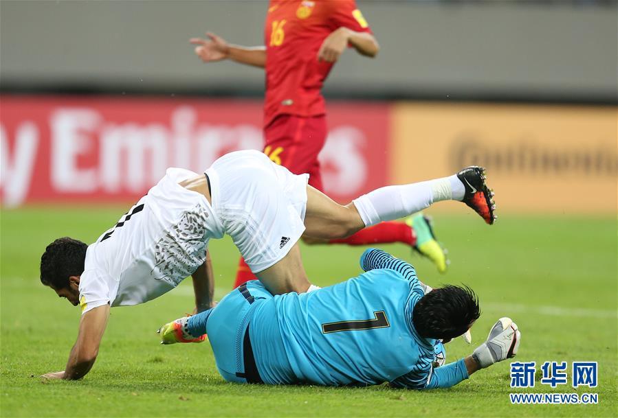 世预赛:中国队主场0-0战平伊朗队[组图]