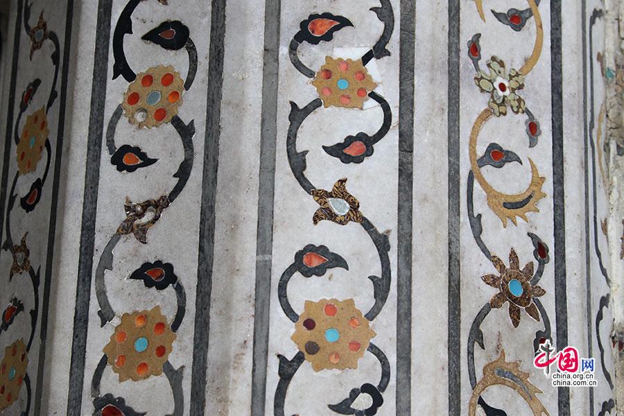 印度人物浮雕花纹