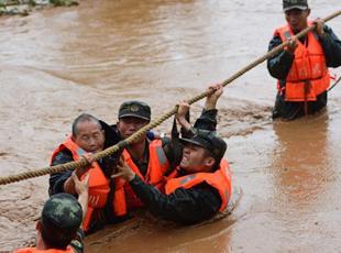 四川攀枝花暴雨 疏散转移民众600多人