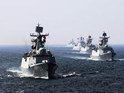 中俄'海上联合-2016'军演