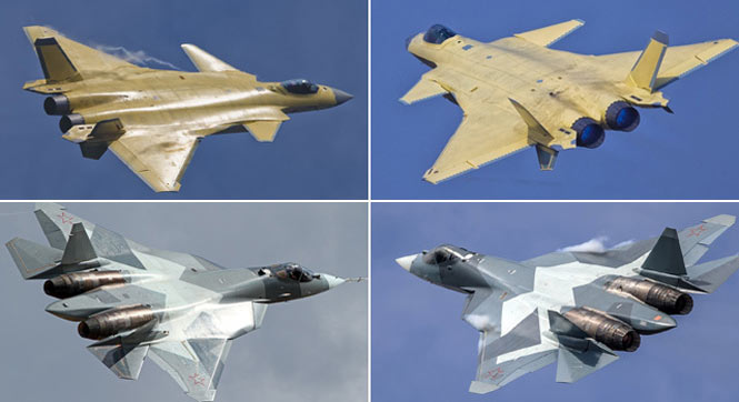 歼20与T50对比谁更像4代机