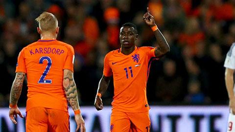世预赛:普罗梅斯梅开二度 荷兰4-1白俄罗斯