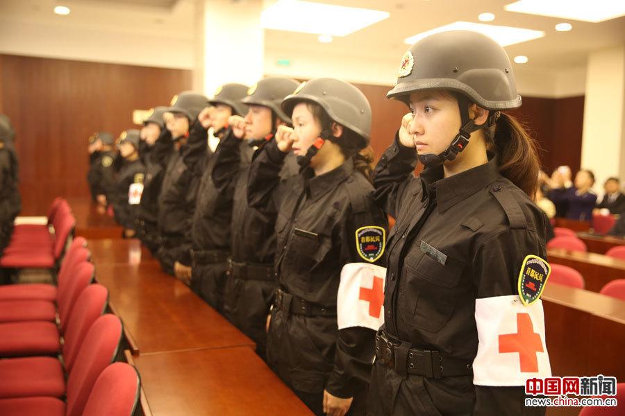 北京西城区红十字志愿者风采
