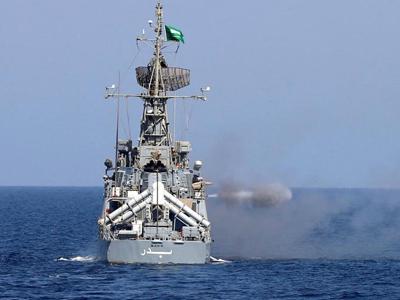 沙特举行近年来罕见大规模海上军事演习