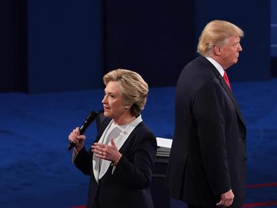"""美总统大选""""二辩""""开始"""
