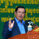 柬埔寨首相再就南海力挺中国:域外势力少掺和
