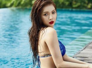 韩90后性感女星盘点 雪莉泫雅hani均上榜