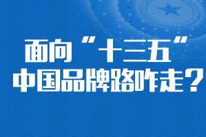 """面向""""十三五"""" 中国品牌路咋走?"""