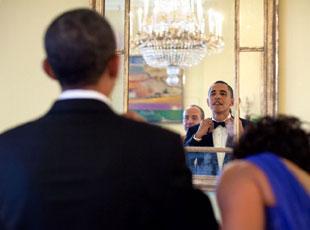 奥巴马最后一次国宴现场
