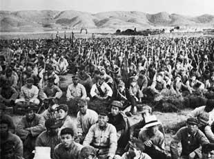 《西行漫记》中的红军影像