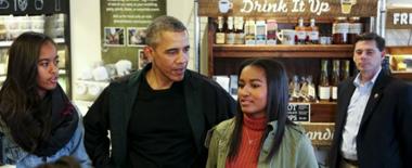 """奥巴马两女儿再次被评为""""全球最具影响力少年"""""""