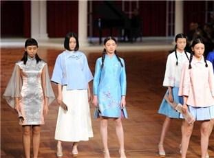 """中国国际时装周开幕 展现浓浓""""民国风"""""""