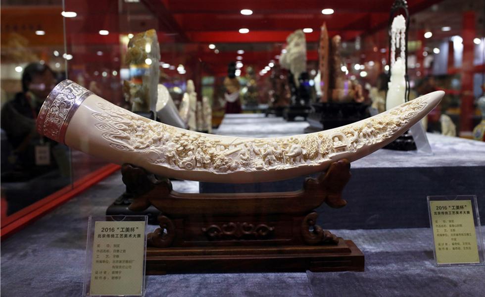 文博会上精美绝伦的北京传统工艺品