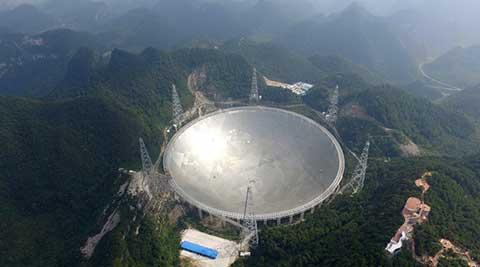 中国天眼 带着 天问 看宇宙