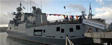 俄军民举行各类活动庆祝海军建军320周年